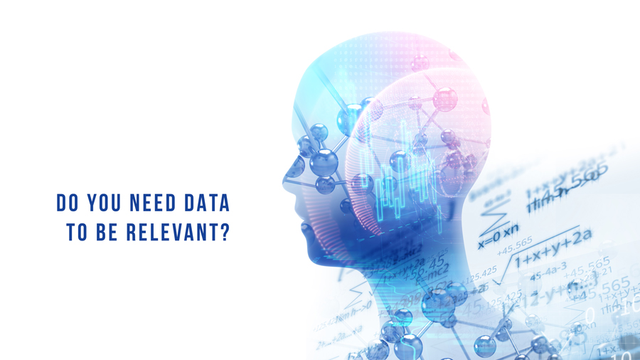 personalization engine needs data to be relevant
