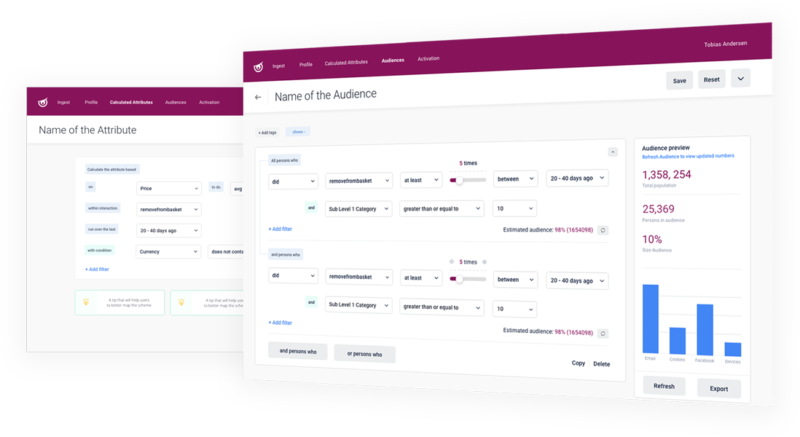 CDP Audience Builder