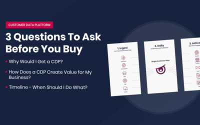 Customer Data Platform: 3 Questions To Ask Before You Buy