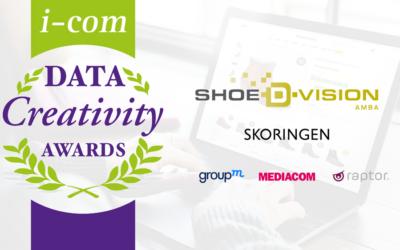 Shoe-d-vision and Raptor at I-COM Data Creativity Awards 2018