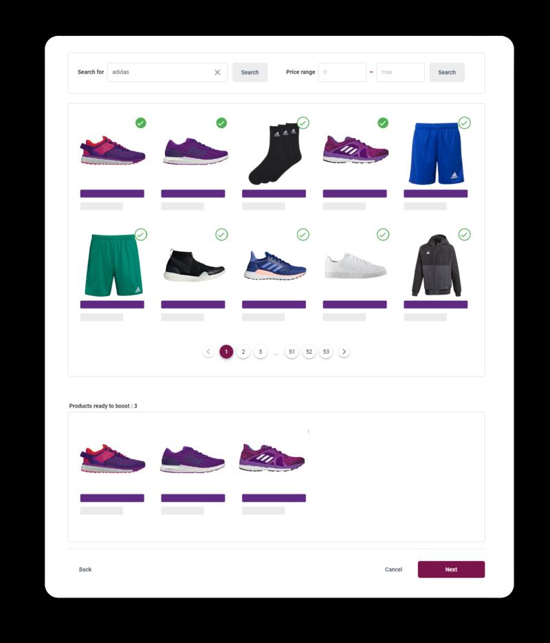Raptor Merchandising - Product selection