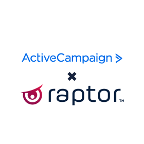 Active Campaign and Raptor Services integrations