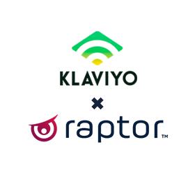 Raptor Services and Klaviyo integrates