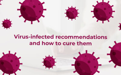 Virus-infected recommendations and how to cure them