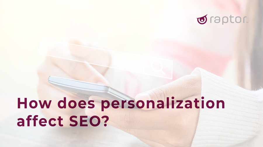 personalization and SEO