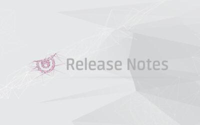 Release Notes November 2018