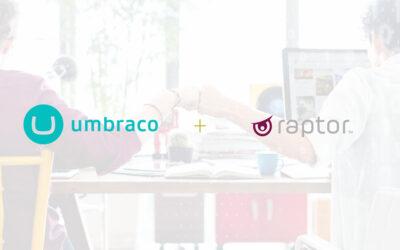 Umbraco reveals Raptor as a third-party app