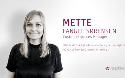 Raptor's nye Customer Success Manager